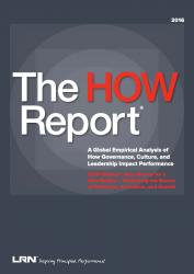 The How report by LRN